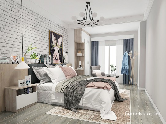 格瑞丝系列卧房A25003