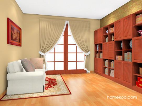 新中式主义书房家具C3280