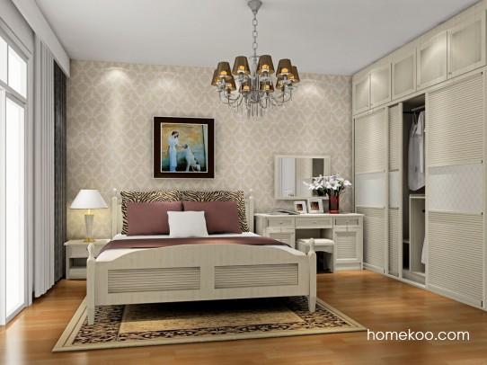 英伦印象卧房家具A17119