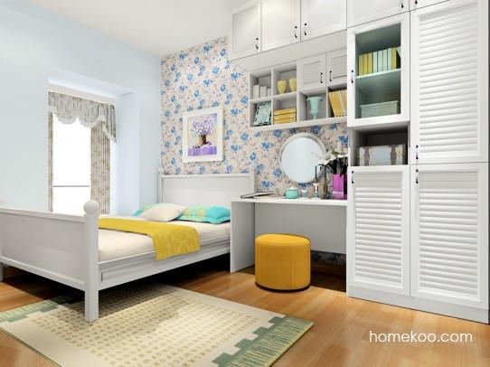 韩式田园卧房家具A17399