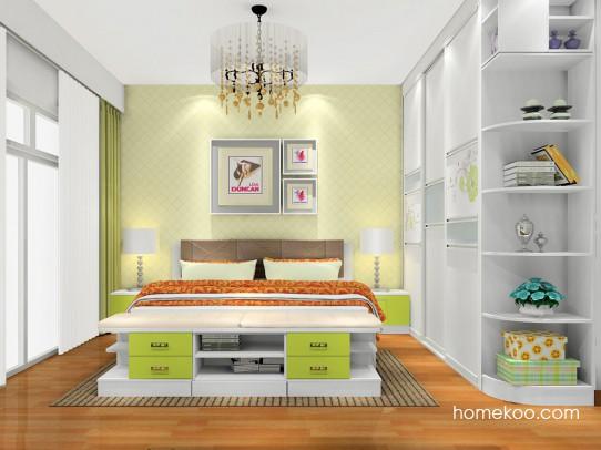里昂春天卧房家具A17701