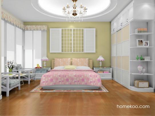韩式田园卧房家具A18099