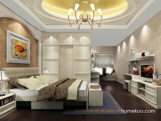 英伦印象卧房家具A18329