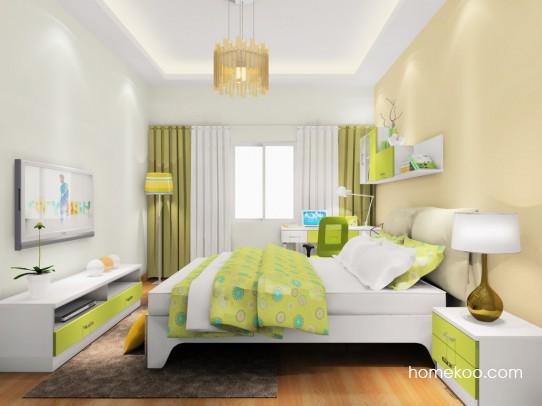 里昂春天卧房家具A18434