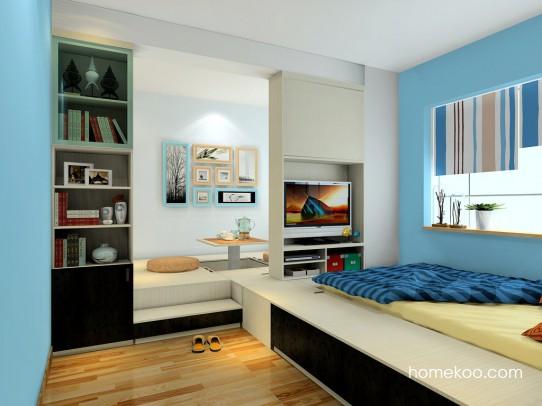 米兰剪影卧房家具A21229