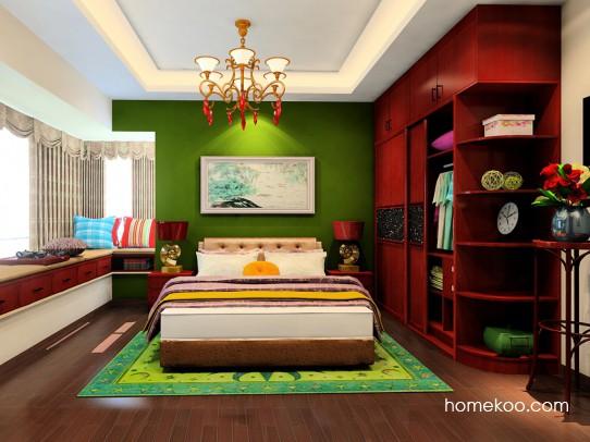 中国韵卧房家具A21381