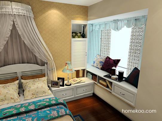韩式田园卧房家具A21671
