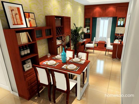 新中式主义客餐厅G21275