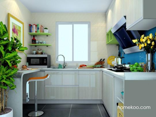 莱茵河畔厨房橱柜F22629