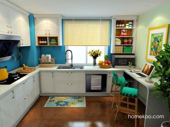 西西里厨房橱柜F22912