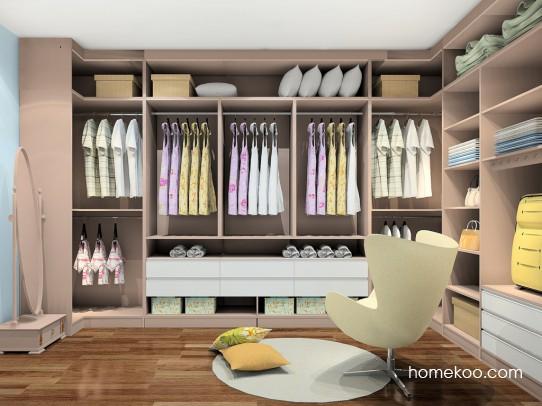新实用主义卧房家具A23676