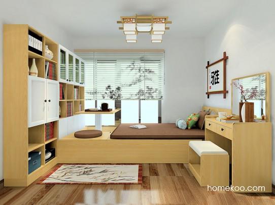 新实用主义卧房家具A23715