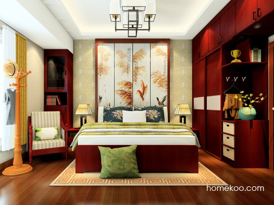 中国韵卧房家具A23720