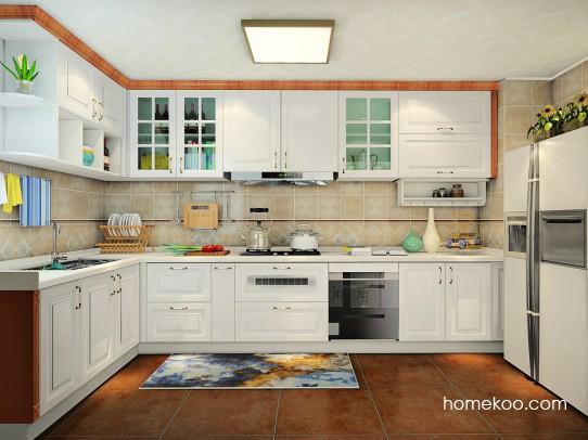 剑桥悠城厨房橱柜F23011