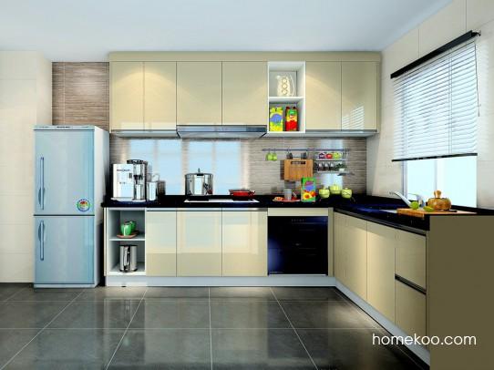 维也纳韵厨房橱柜F23022