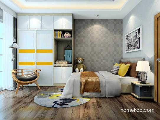 新实用主义卧房家具A24258