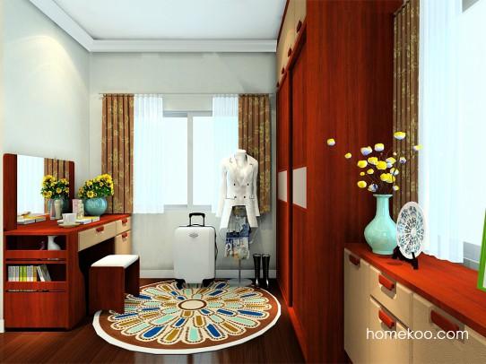 新中式主义卧房家具A24306