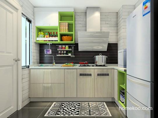 莱茵河畔厨房橱柜F23142