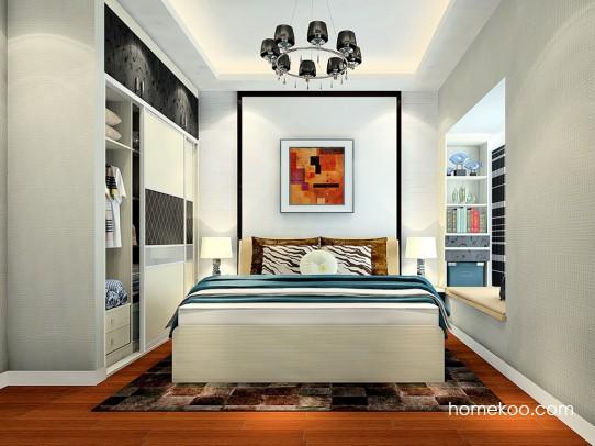 米兰剪影卧房家具A24568
