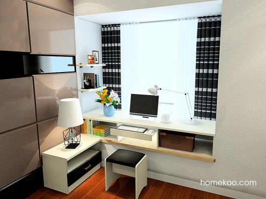 米兰剪影卧房家具A24570