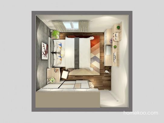 乐维斯系列卧房A24801