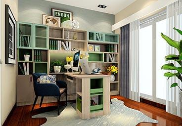 书桌柜一体化设计